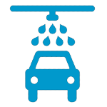 Image of auto in carwash