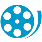 Image graphic of a movie reel