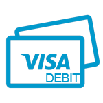 Image graphic of a Visa Debit Card